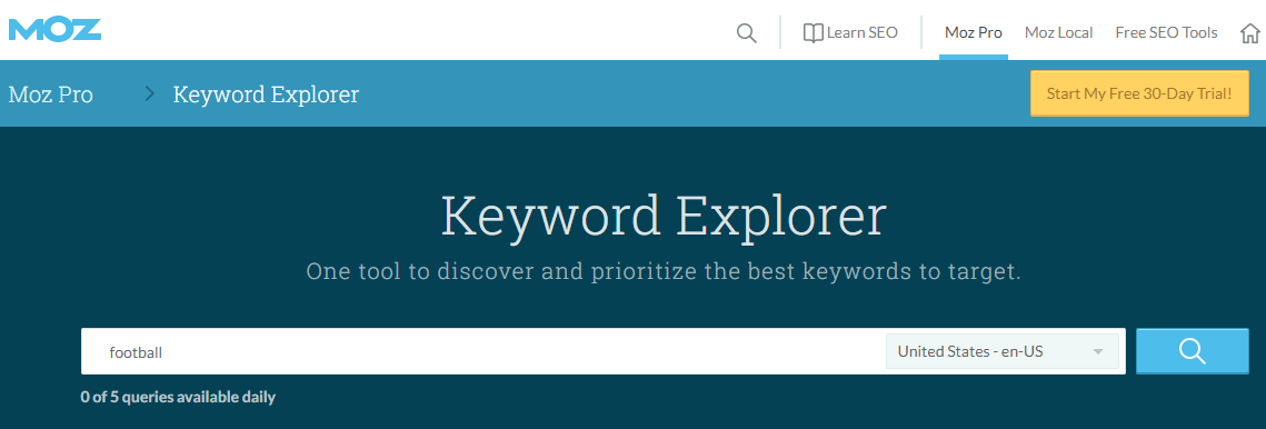 SEO companies in nigeria moz keyword explorer