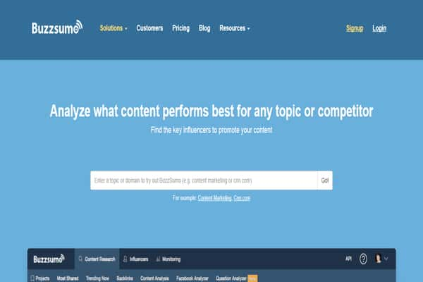 social media marketing companies in nigeria tools buzzsumo