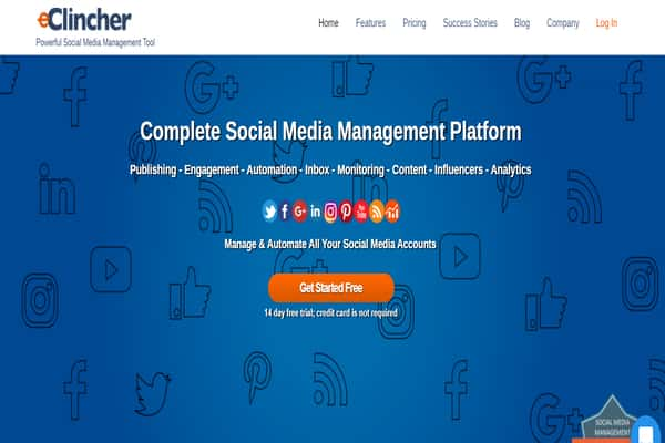 social media marketing companies in nigeria tools eclincher